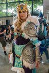 Crystal Maiden Charge of the Tundra Warden Cosplay