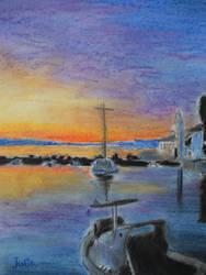 Sunset by Jujuly21