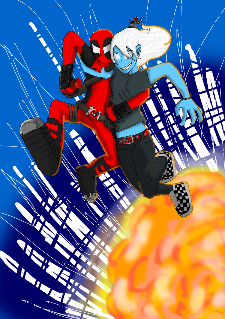 Deadpool n Copycat by AgentHex