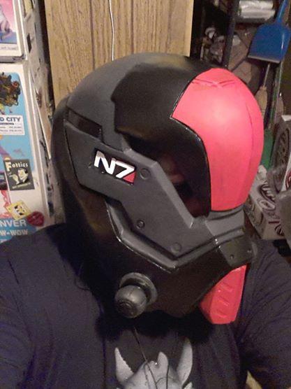 Wips: Shep helmet by AgentHex