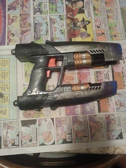 nerf star lord gun by AgentHex
