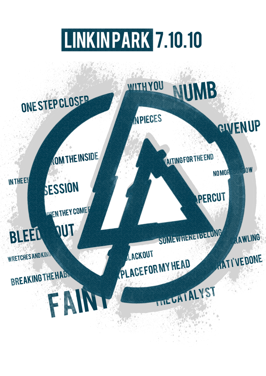 Linkin Park T-Shirt Design by gmurua