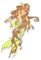 Mermaid by Blue-Moon-Rabbit
