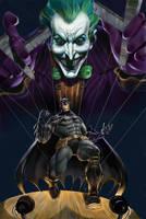BATMAN COVER by giuseppecandita