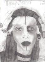 Marilyn Manson by DeathThemeThirteen