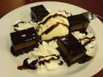 Choco Fudge Cake n' Gelato