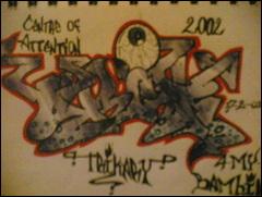 an old graff sketch by Trikone23