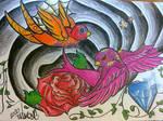 sugar swallows coloured