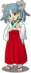 Miko Wikipe-tan by Kasuga39