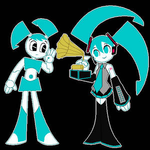 XJ9 and Hatsune Miku