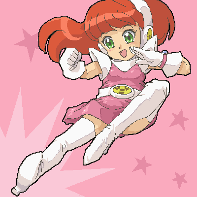 Anime styled Atomic Betty