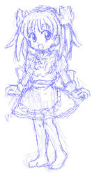A sketch for Wikipe-tan