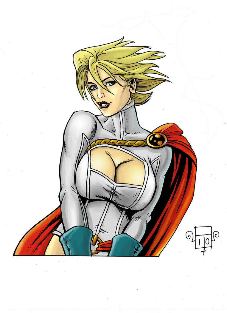 Power girl 1 by FTacito