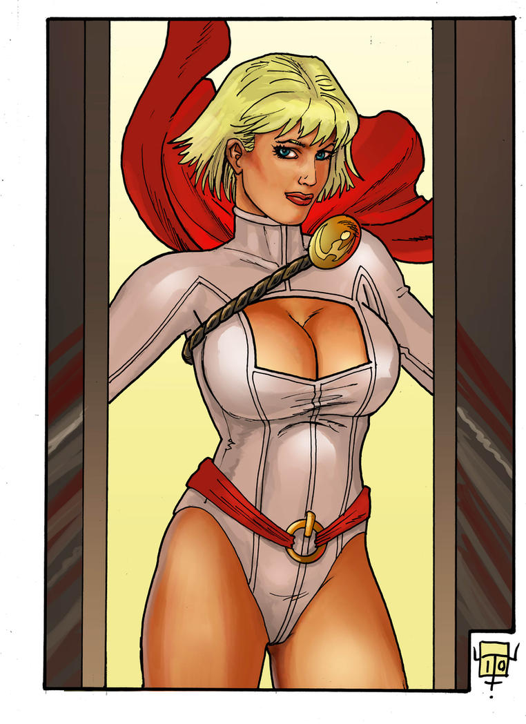 power girl 10 Q by FTacito