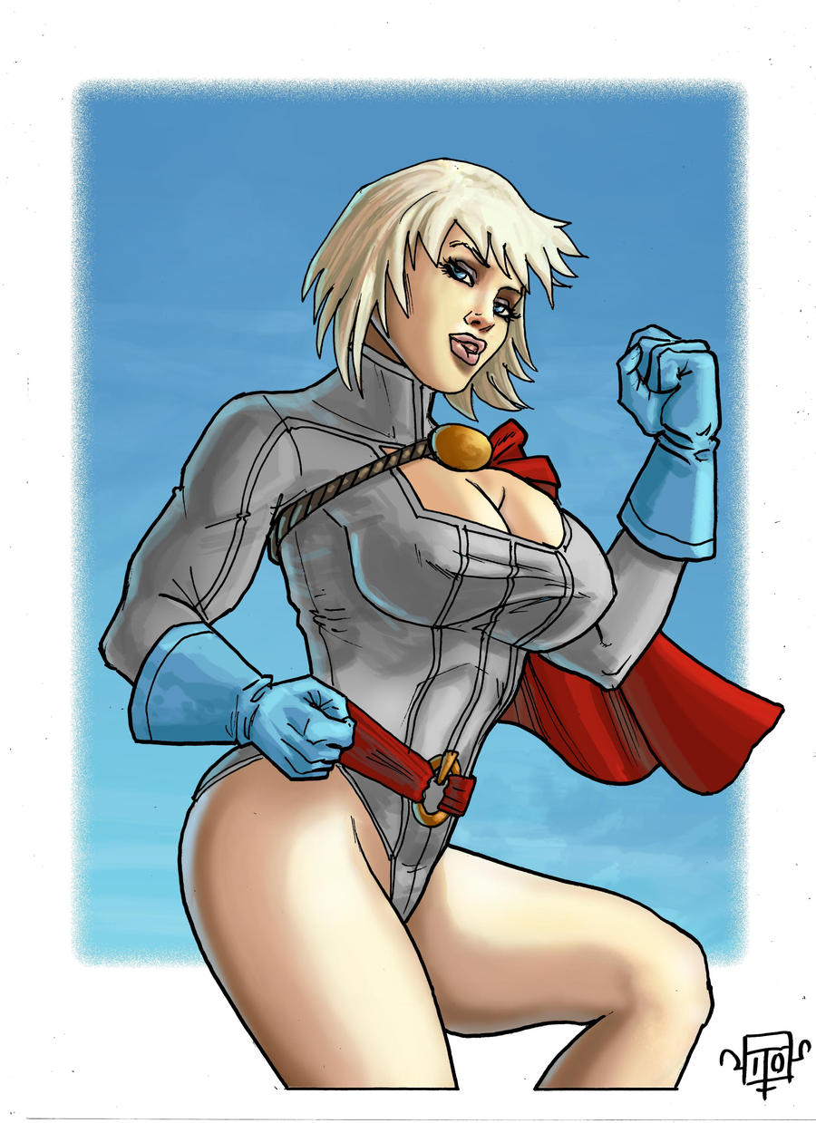 power girl 12 Q by FTacito