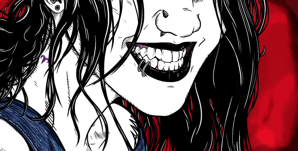 Toothy Smile by TomahawkTerror