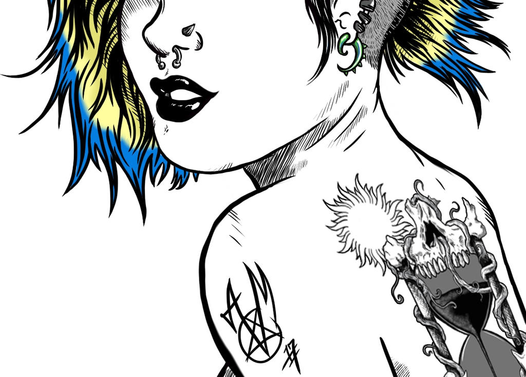 Punk Goth by TomahawkTerror