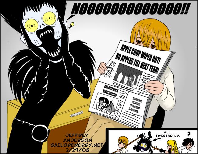 Death Note Ryuks Nightmare by SailorEnergy