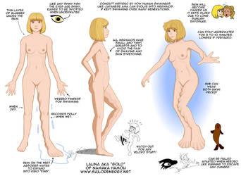 NamakaH Mermaid Anatomy NUDE Updated Jan2019 by SailorEnergy