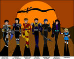 Artrade Walking from Sunset in Kamen Rider Armors by SailorEnergy