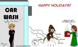 Don't chase Hermes.  Gift for BasherTheBasilisk by SailorEnergy