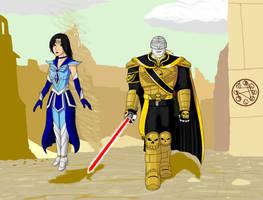 Artrade Sailor Repulus and Nagash by SailorEnergy