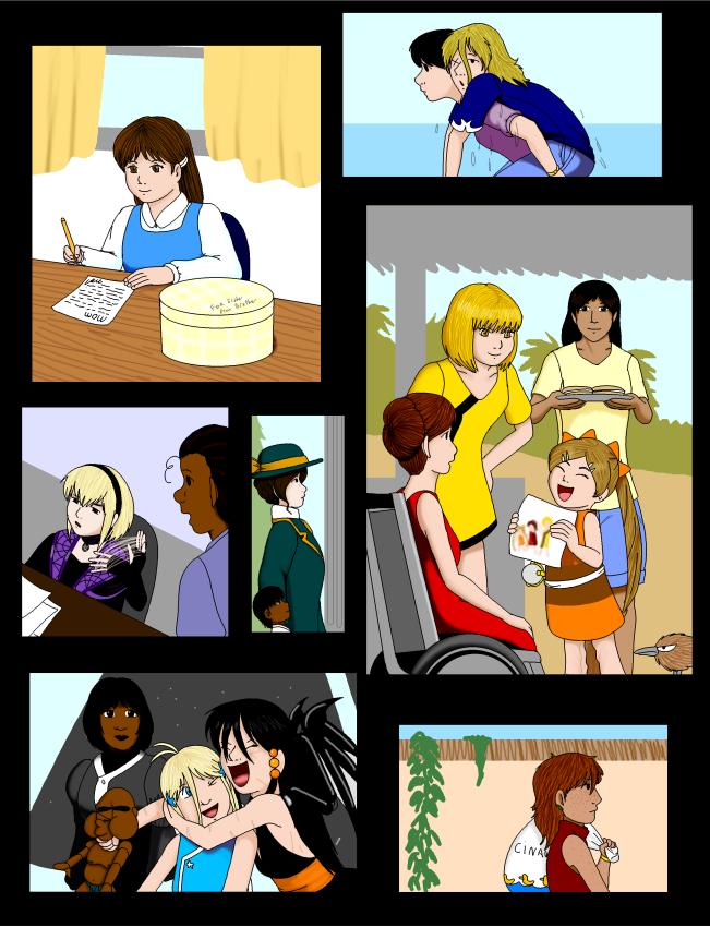 46 Theme Challenge: Family by SailorEnergy