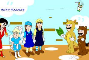 43 Mario Bro class: Gift for coopergal24 by SailorEnergy