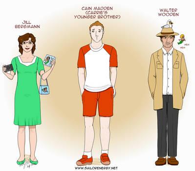 Namaka Hamou Character Diagrams: Jill Cain Walter