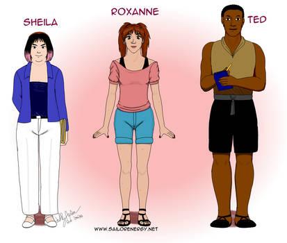 Namaka Hamou Character Diagrams Sheila Roxanne Ted