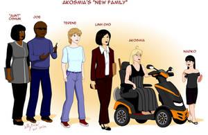Reference Akosmia's New Family.