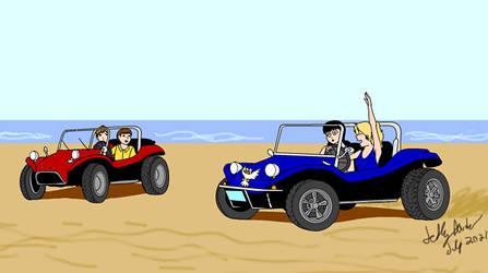 Art trade Beach buggy cars