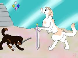SU Canines: Sworn to the Sword by rexyplexy