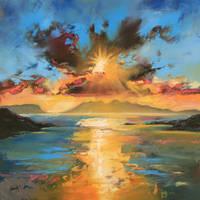 Morar Sunset by NaismithArt