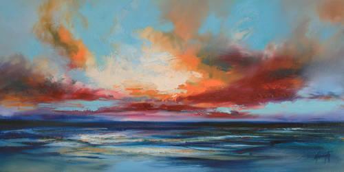 Ocean Blue by NaismithArt