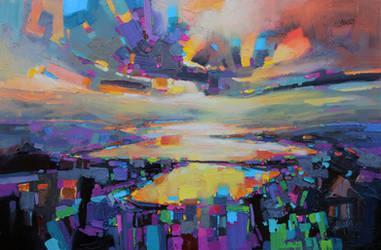 Loch Garry Transition by NaismithArt