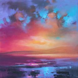CMY Sky Study 1 by NaismithArt