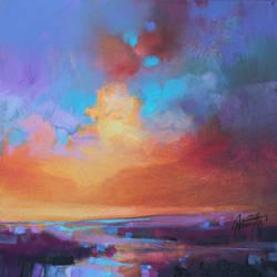 CMY Sky Study 2 by NaismithArt