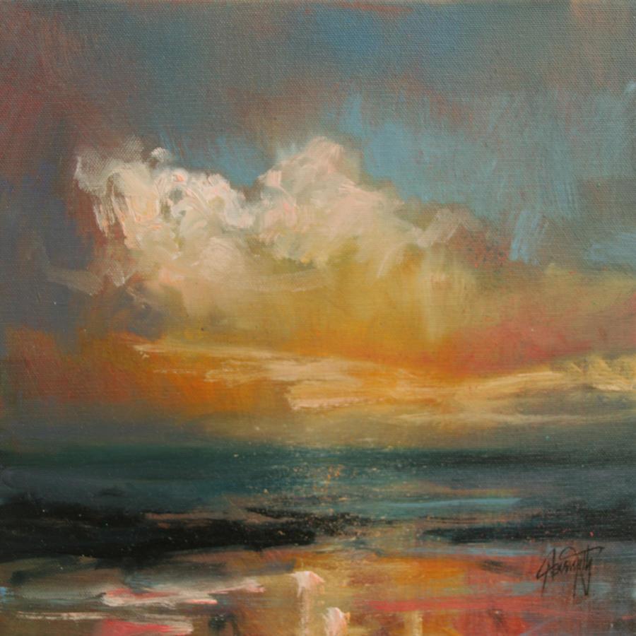 Hebridean Sky Study 1 by NaismithArt