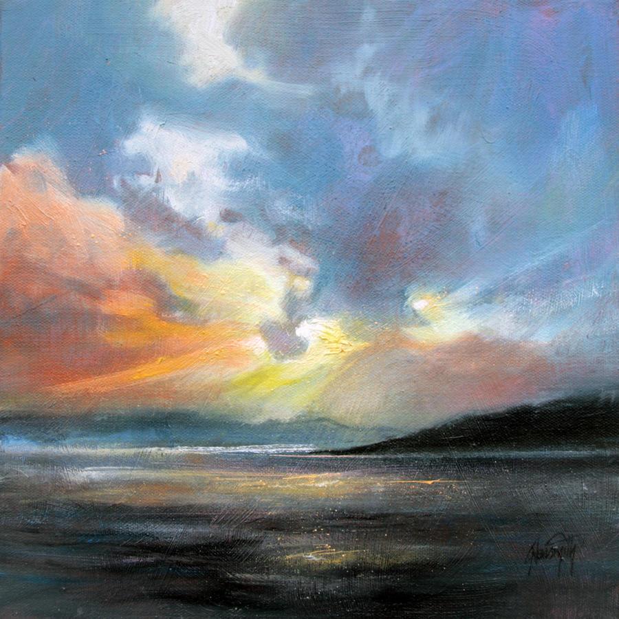 Hebridean Sky Study 2 by NaismithArt