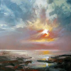 Hebridean Sky Study 4 by NaismithArt