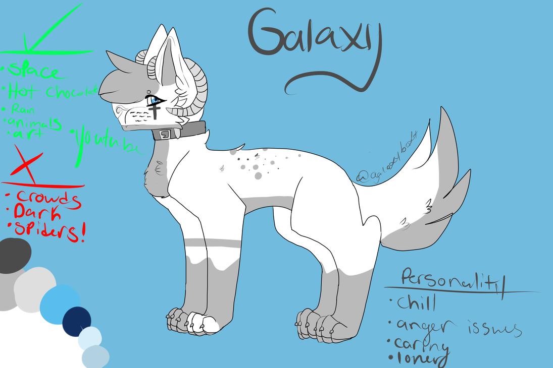 Galaxy updated reference sheet by XxPinkGalaxyXxAj