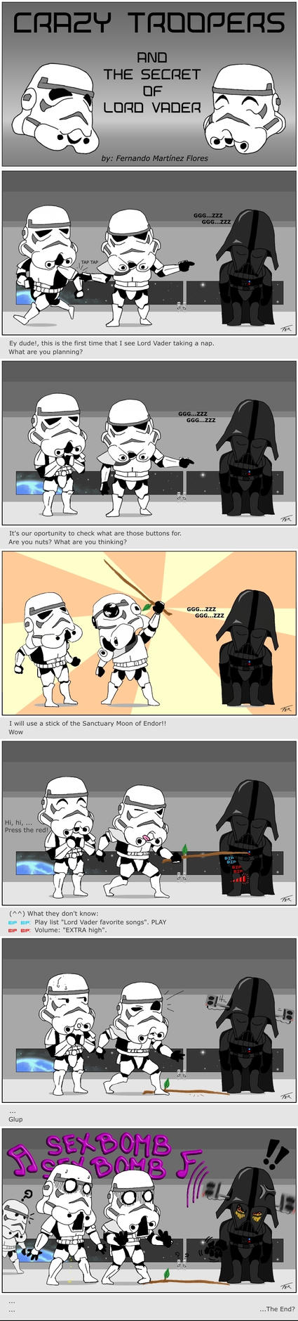 C.T. - Darth Vader's Secret by Mesterfer