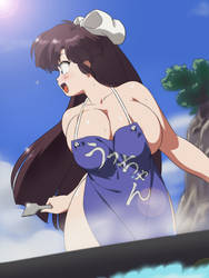 Ukyo just found Ranma by mage1711