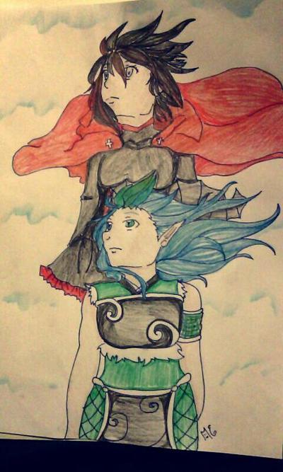 Ruby Sky by MishiruTsuki