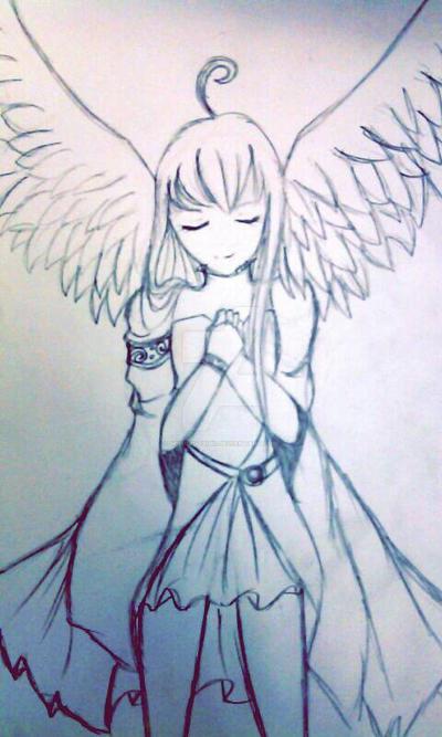 Light of a angel  by MishiruTsuki