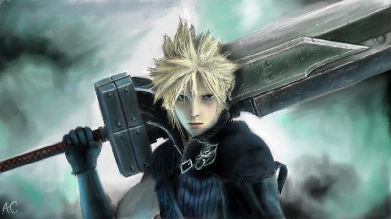 Final Fantasy Vii Cloud Strife By Acgearmaker On Deviantart