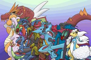 The Dragons of Pokemon by BenignChaos