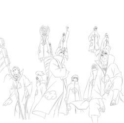 Akatsuki Road To Ninja Line by XxSasukeUchihaxX17