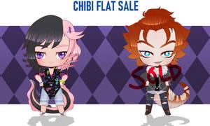 Chibi Set 3- Flat price OPEN 1/2